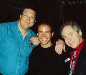 Penn and teller and simon winthrop magician las vegas